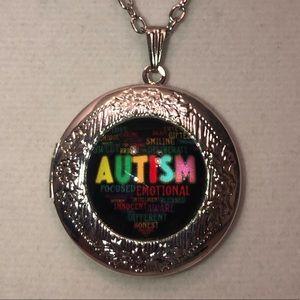 Autism awareness locket